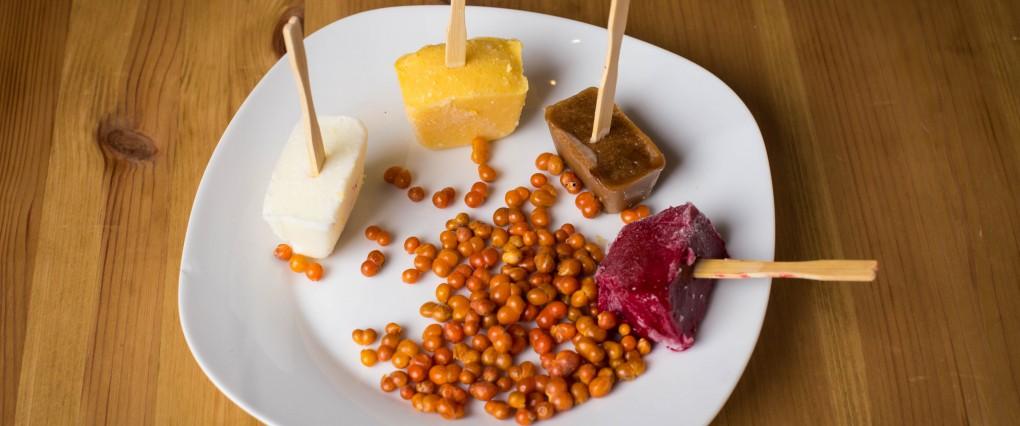 Hibiskus, Tamarind, Haselnuss, Mangokokoseis